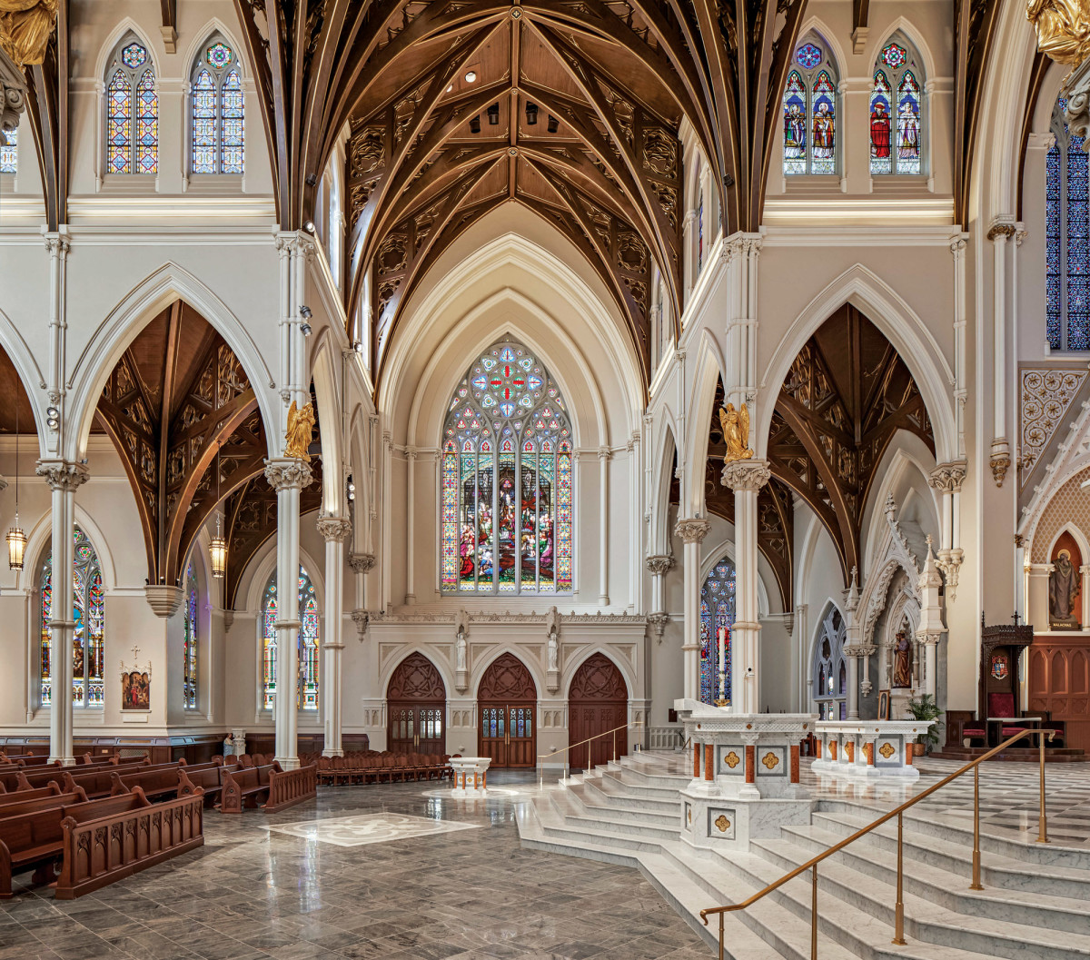 Sanctuary From South Transept, Elkus Manfredi Architects