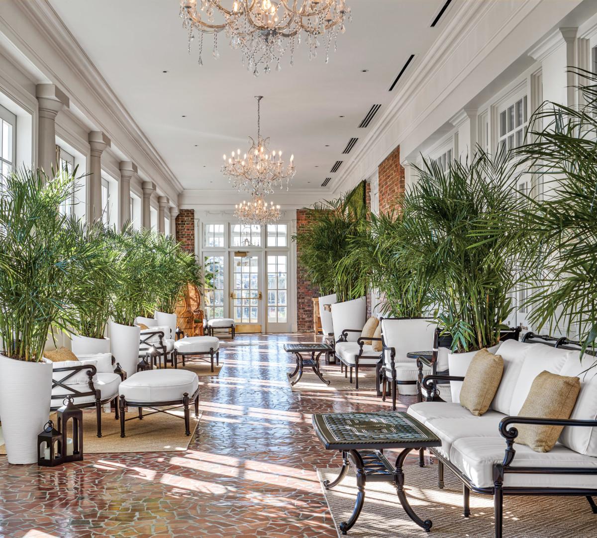historic interior, Cavalier hotel