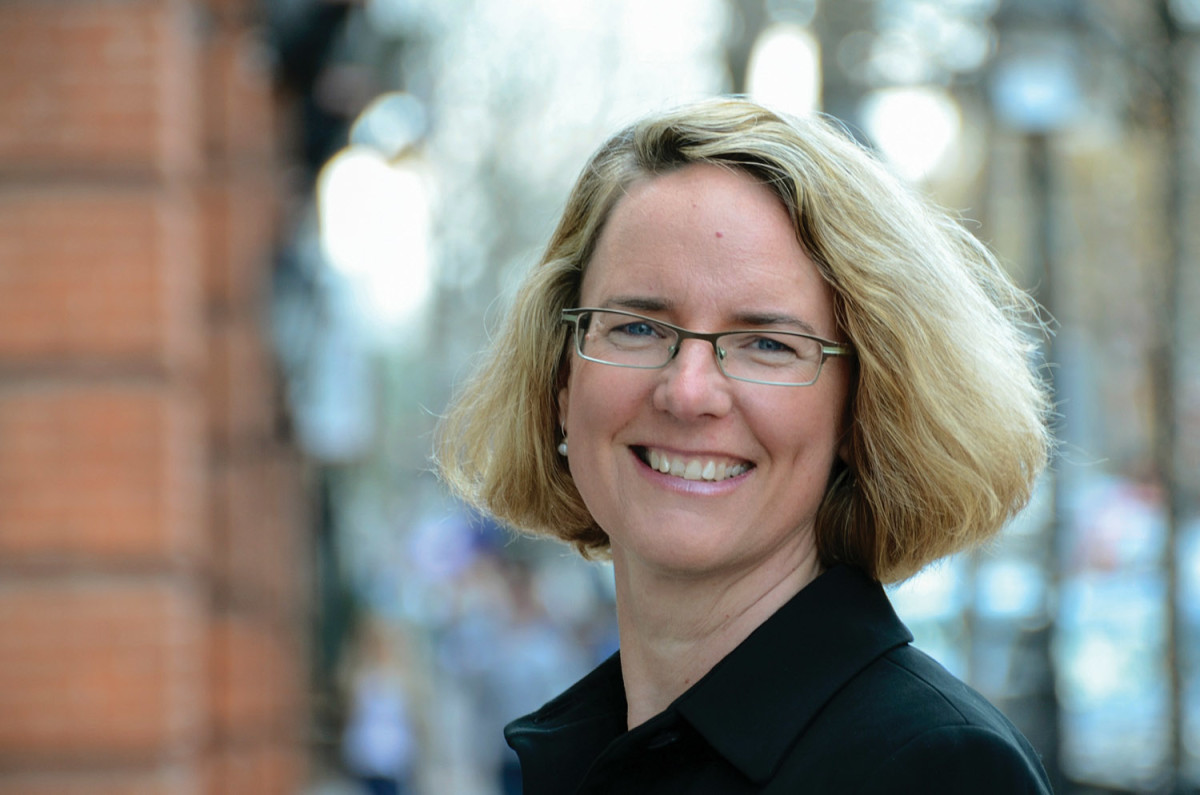 Lynn Richards, president and CEO of the Congress for New Urbanism