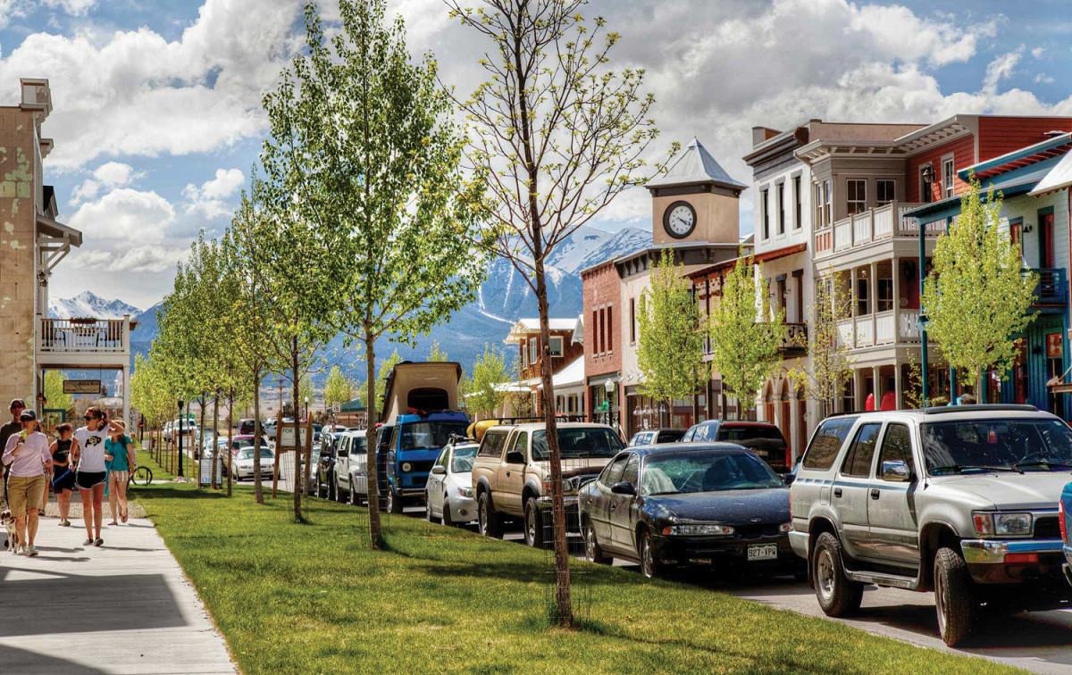 South Main, New Urbanist town
