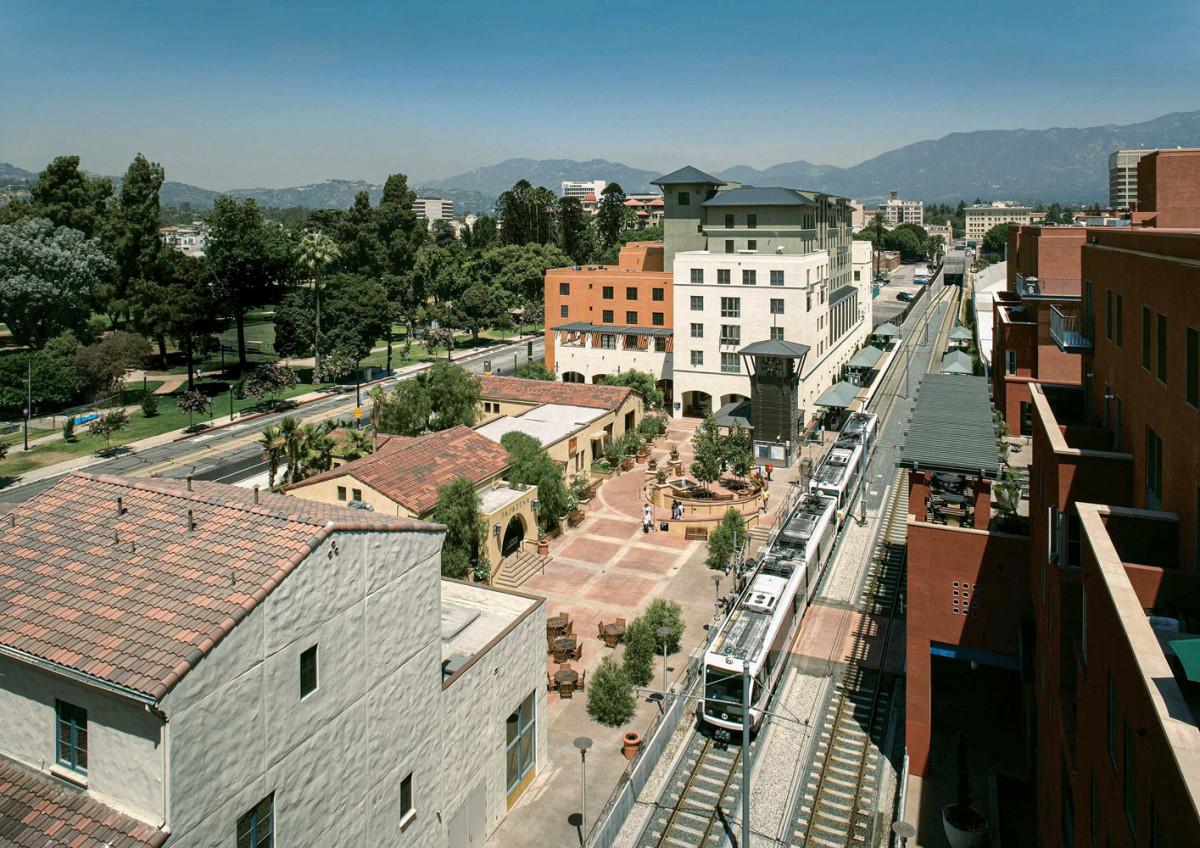 AT&SF Rail Company, Pasadena Santa Fe Station