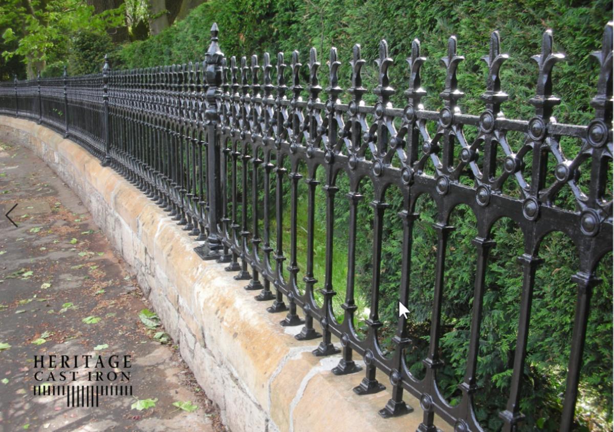 Heritage Cast Iron USA, cast iron fence