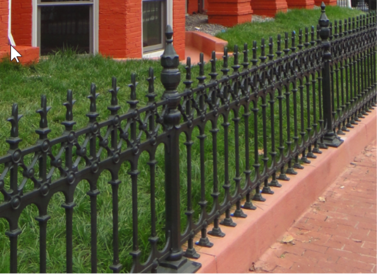 China Heavy Duty Spear Top Steel Grills Fence Design For Residential China Whosale Steel Fence And Cheap Steel Fence Price