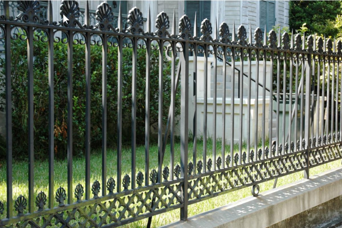 Cast Iron, Wrought Iron Fence