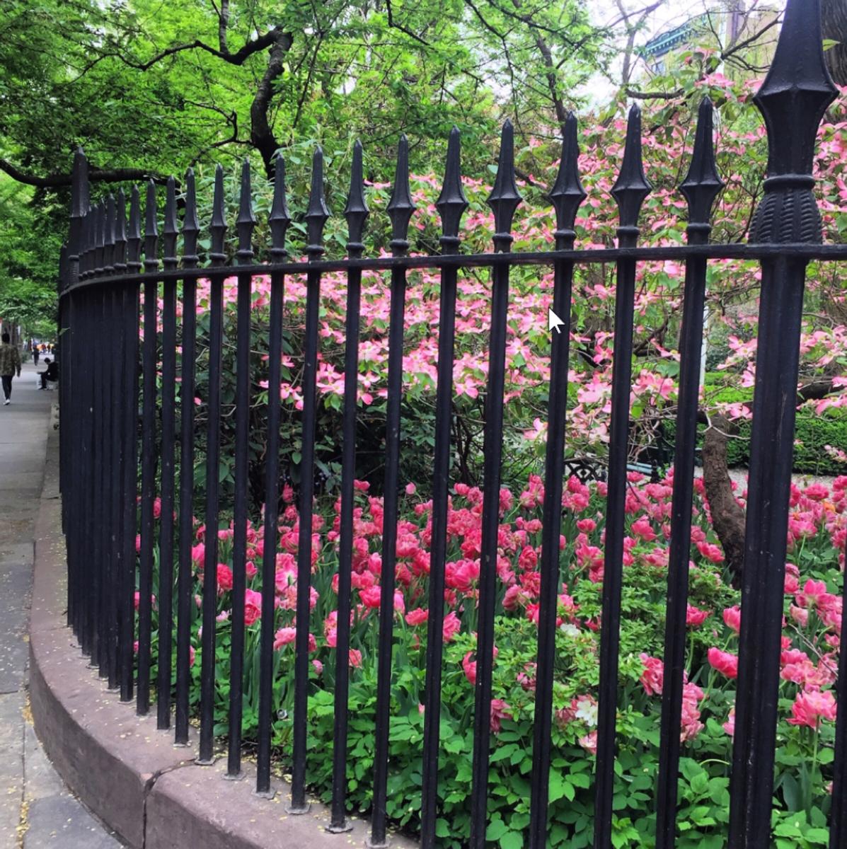 Original Wrought Iron Fence, Gramercy Park, NYC