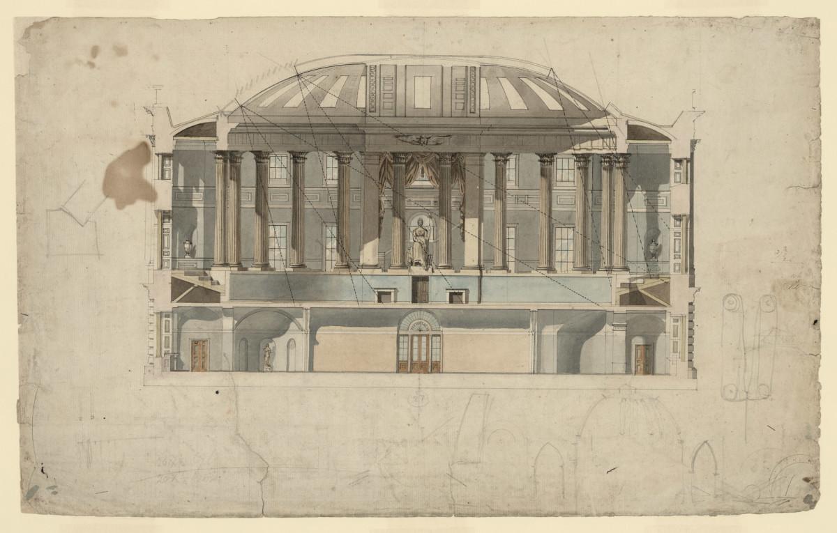 Rendering of the Thomas Jefferson Memorial