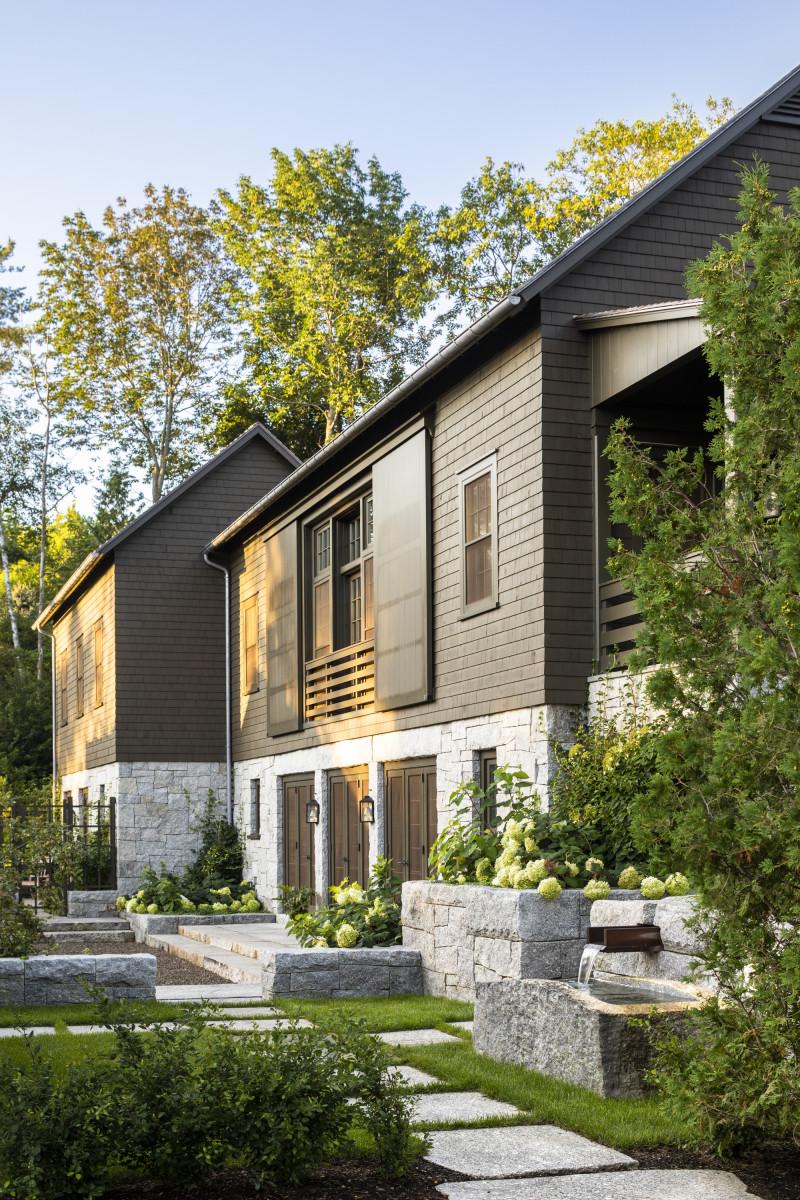 "G. P. Schafer Architect for ""A Summer Cottage in Coastal Maine"""