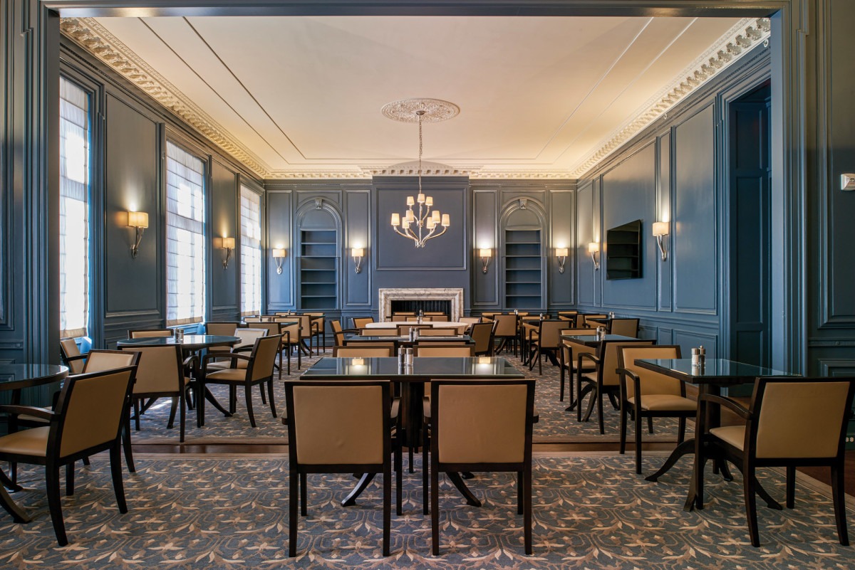 Beaux Arts Dining area