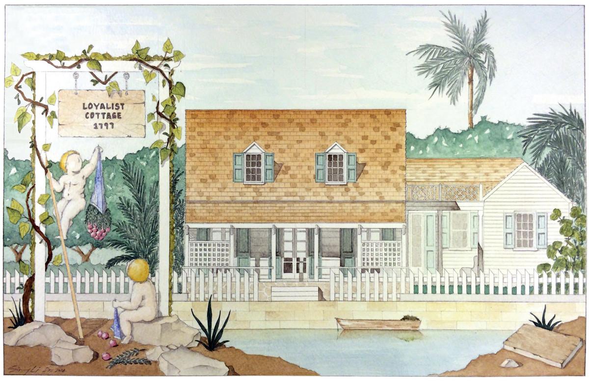 Loyalist Cottage illustration