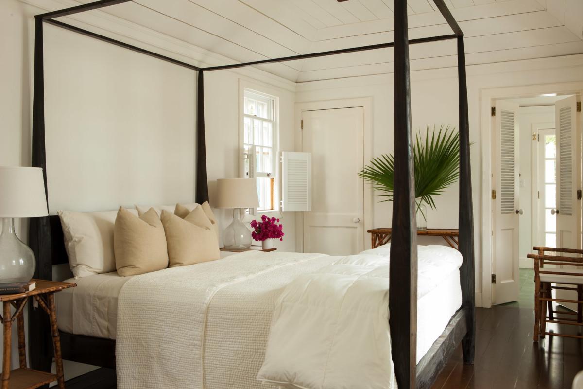 white master suite