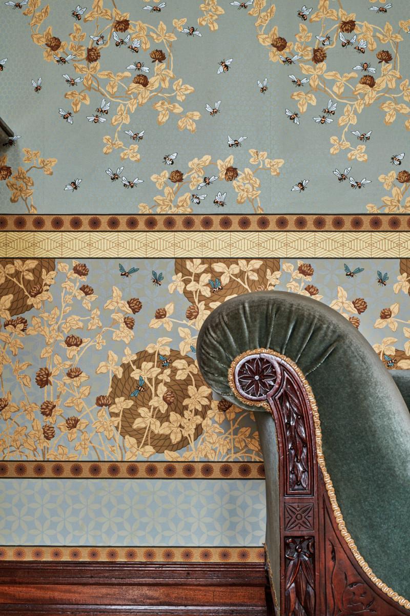 Candace Wheeler Honeybee wallpaper