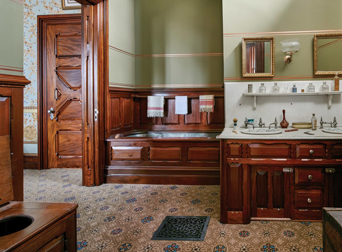 John Canning & Co., Mark Twain House & Museum, Mahogany Suite