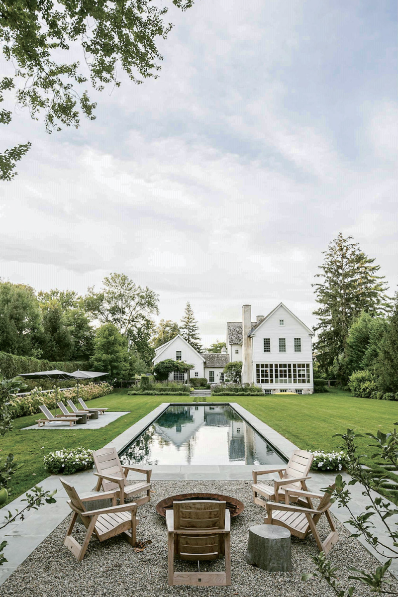 Farmhouse swimming pool, Janice Parker Landscape Architects