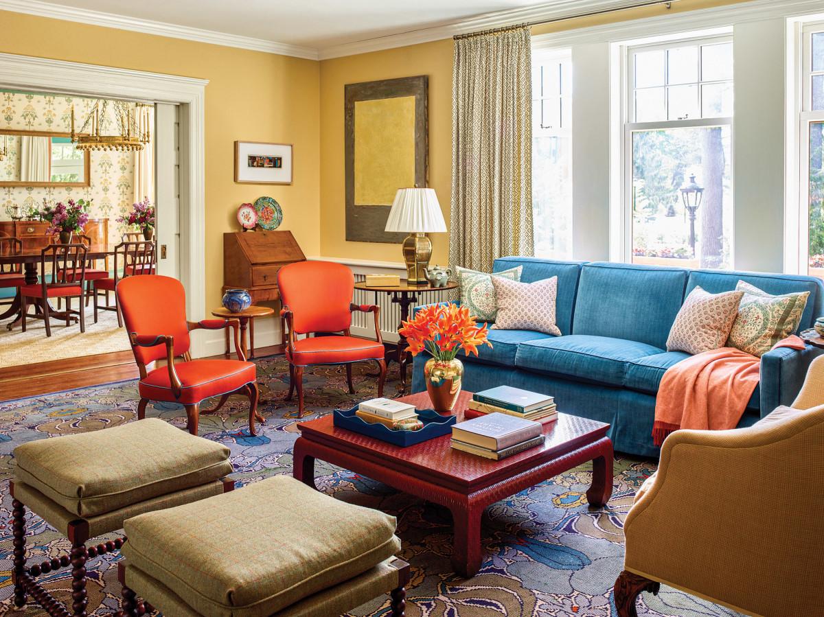 Vassar living room
