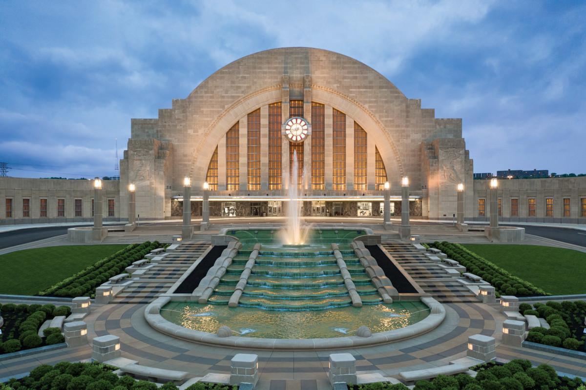 Cincinnati Union Terminal exterior