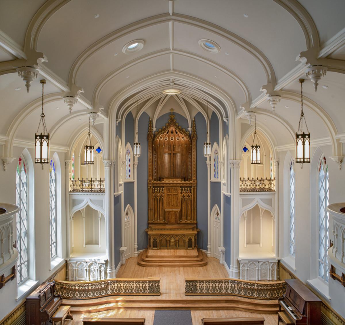Providence Academy Chapel Renovation, SERA Architects