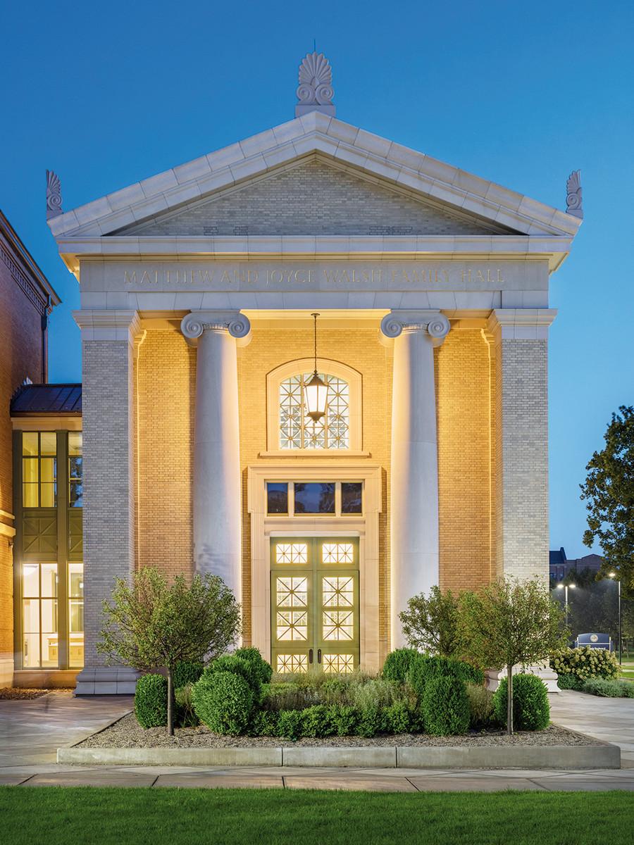 University of Notre Dame Matthew and Joyce Walsh Family Hall of Architecture, Stantec Architecture, Inc. (Executive Architect), JSA Architects (Design Architect)