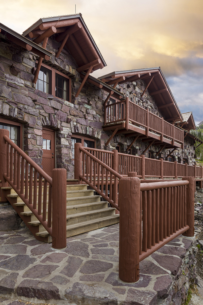 Sperry Chalet Reconstruction, Anderson Hallas Architects, PC