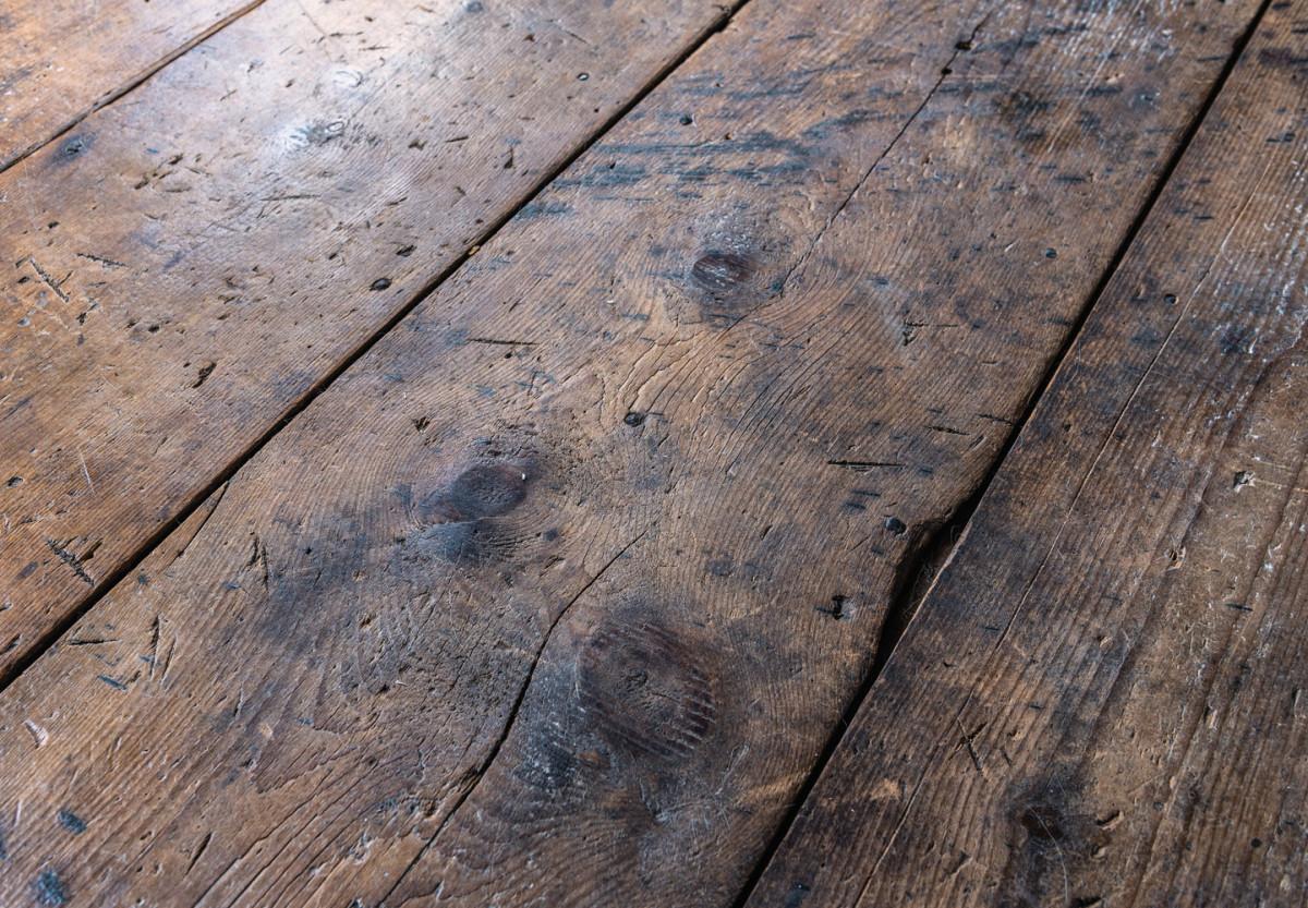 antique floors, Fox Hill Jamestown