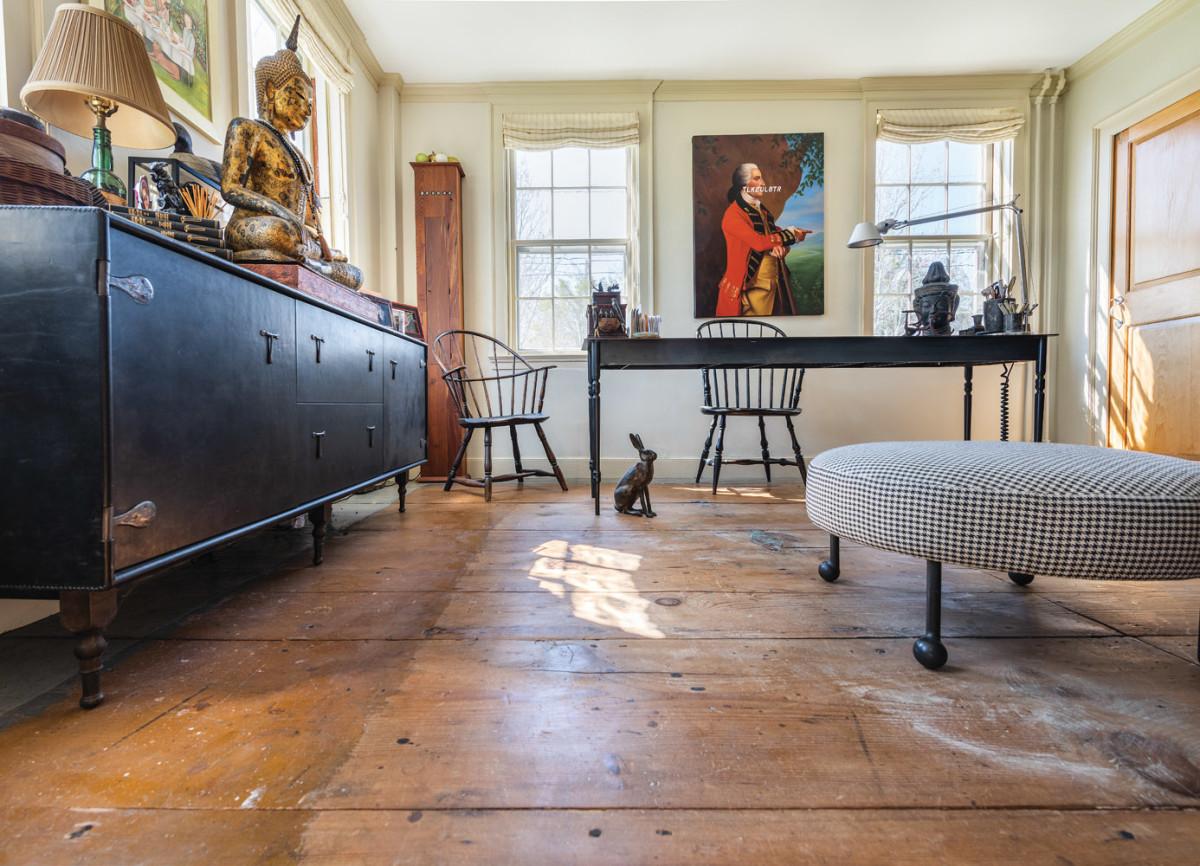antique flooring, Fox Hill Jamestown